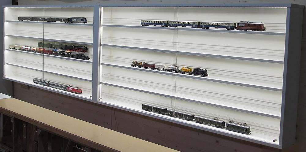 modelleisenbahn vitrinen ho